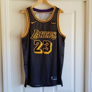 LEBRON JAMES LA LAKERS SWINGMAN JERSEY